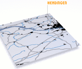 3d view of Hemdingen
