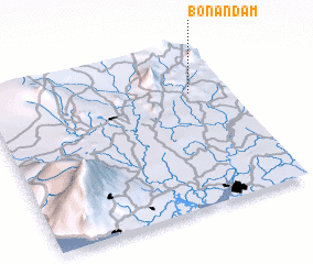 3d view of Bonandam