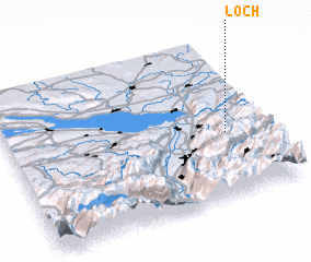 3d view of Loch