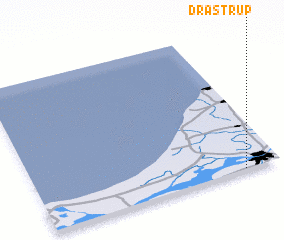 3d view of Drastrup