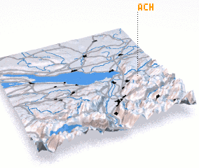 3d view of Ach