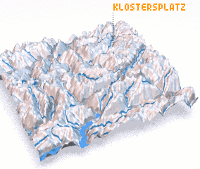 3d view of Klosters Platz