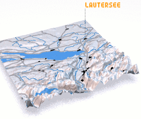 3d view of Lautersee