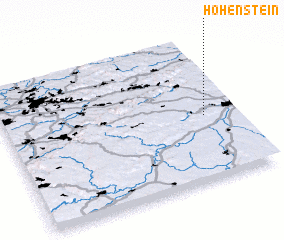 3d view of Hohenstein