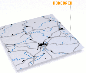3d view of Rodebach