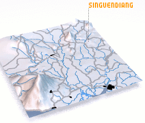 3d view of Singuéndiang