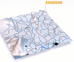 3d view of Bonandam