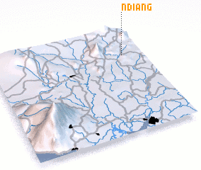 3d view of Ndiang