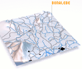 3d view of Bonalébé