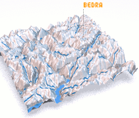 3d view of Bedra