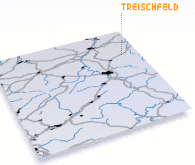 3d view of Treischfeld
