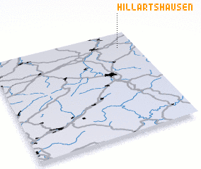 3d view of Hillartshausen