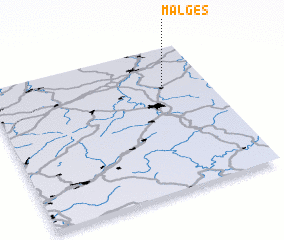 3d view of Malges