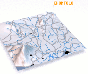 3d view of Ekomtolo