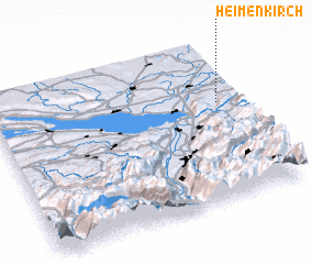 3d view of Heimenkirch