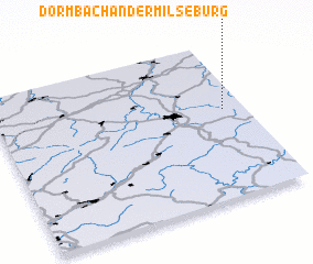 3d view of Dörmbach an der Milseburg