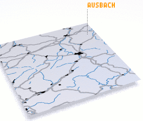 3d view of Ausbach