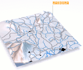 3d view of Makouma