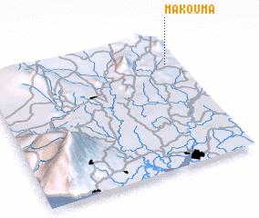 3d view of Makouma