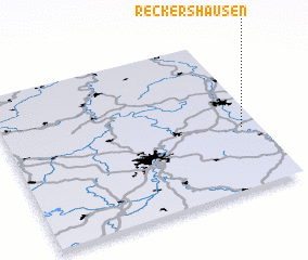 3d view of Reckershausen