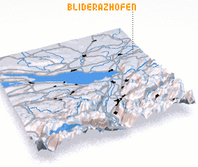 3d view of Bliderazhofen