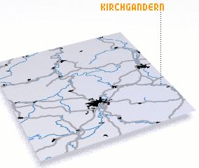 3d view of Kirchgandern