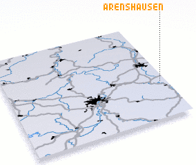 3d view of Arenshausen