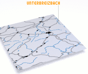 3d view of Unterbreizbach