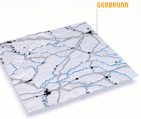 3d view of Gerbrunn