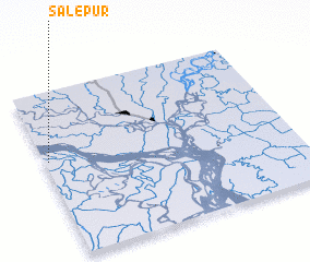 3d view of Sālepur