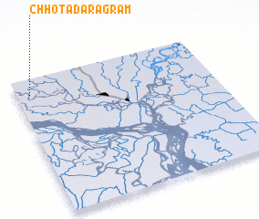 3d view of Chhota Daragrām