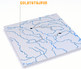 3d view of Golaya Tājpur