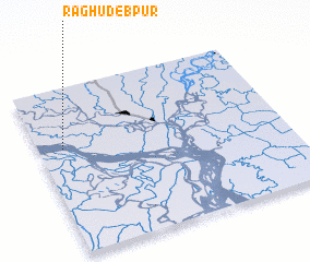 3d view of Raghudebpur
