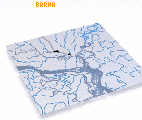 3d view of Bārha