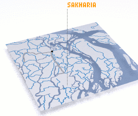 3d view of Sākhāria