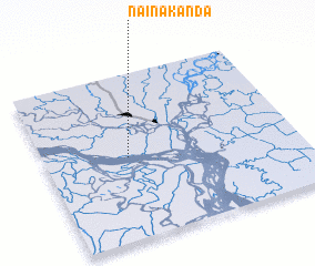 3d view of Nainākānda