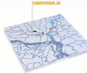 3d view of Char Kondalia