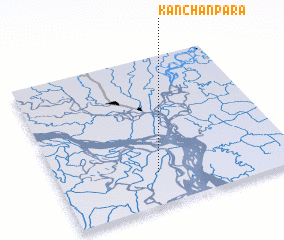 3d view of Kānchanpāra