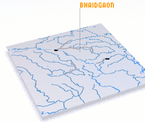 3d view of Bhāidgaon
