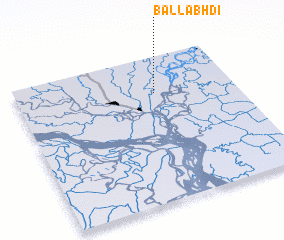 3d view of Ballabhdi