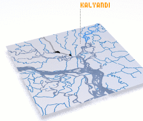 3d view of Kalyāndi