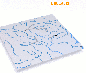 3d view of Dhuljuri