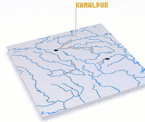 3d view of Kamalpur