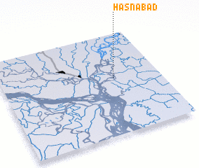 3d view of Hāsnābād
