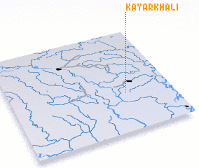 3d view of Kayārkhāli