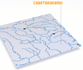 3d view of Char Tārākāndi