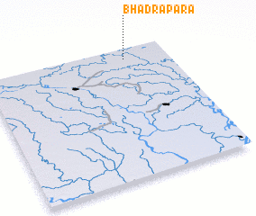 3d view of Bhadrapāra