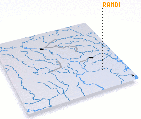 3d view of Rāmdi
