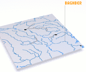 3d view of Bāghber