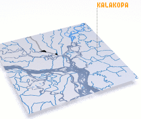 3d view of Kalākopa